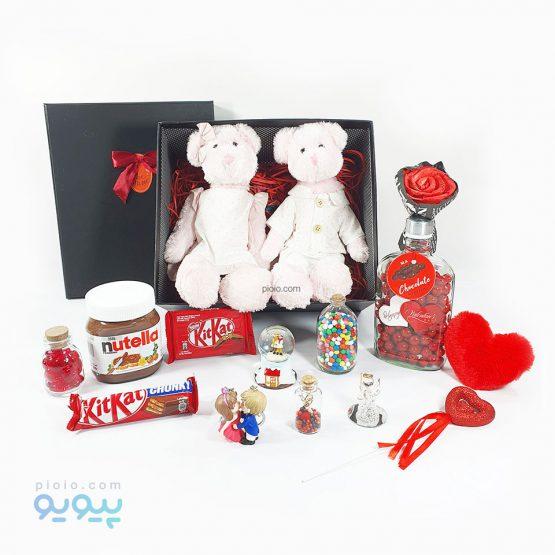 کادو لاکچری روز ولنتاین با عروسک خرس