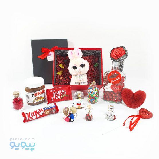 هدیه روز ولنتاین با عروسک خرگوش