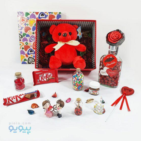 کادوی ولنتاین با خرس قرمز