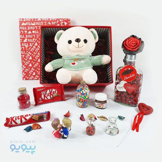 هدیه روز ولنتاین با عروسک خرس