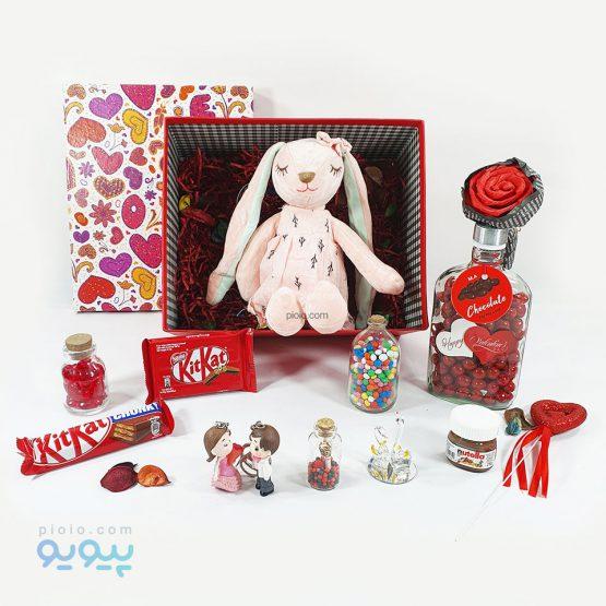 پک ولنتاین با عروسک خرگوش آنجل