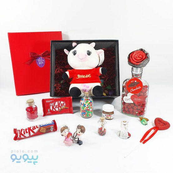 کادوی روز ولنتاین با عروسک گاو