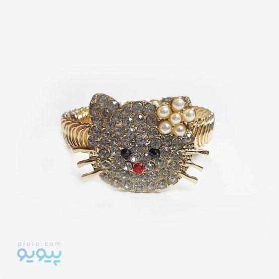 دستبند دخترانه مدل گربه