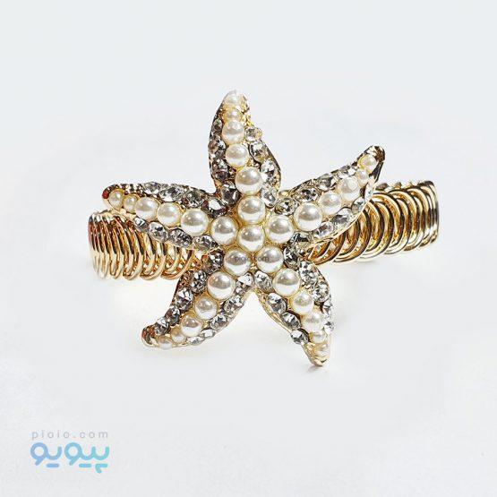 دستبند دخترانه طرح ستاره دریایی