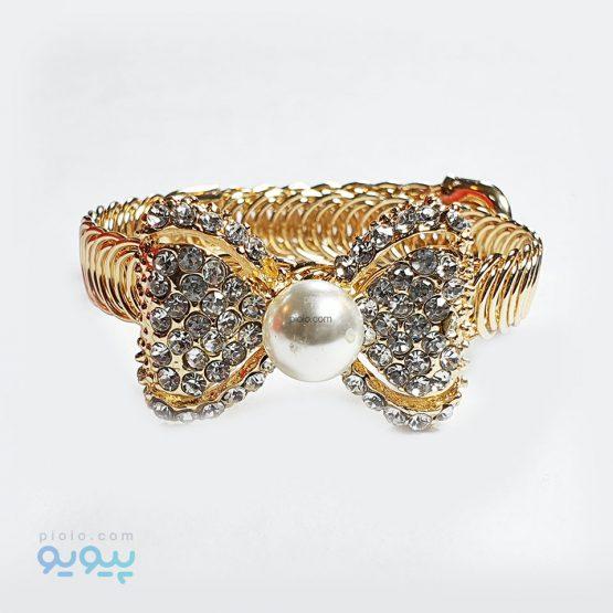 دستبند دخترانه مدل پاپیون