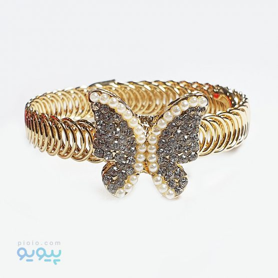 دستبند دخترانه مدل پروانه