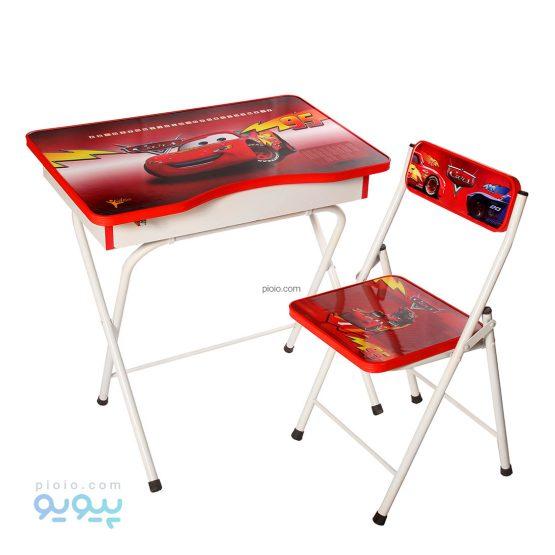 میز تحریر دانش آموزی باکس دار طرح مک کویین