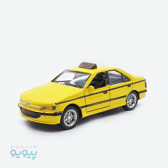 ماشین فلزی تاکسی پژو پارس