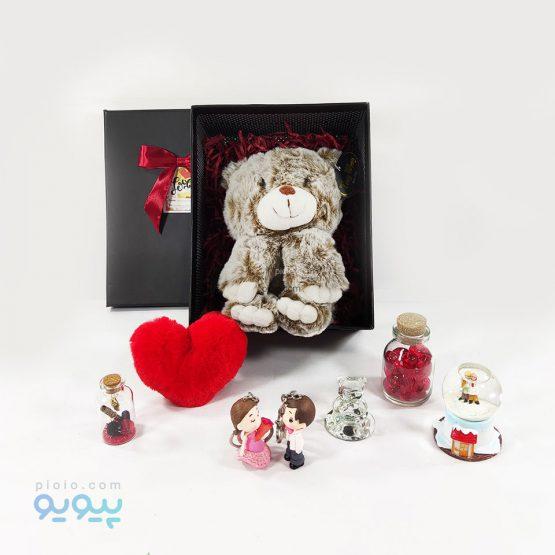 هدیه تولد با عروسک خرس