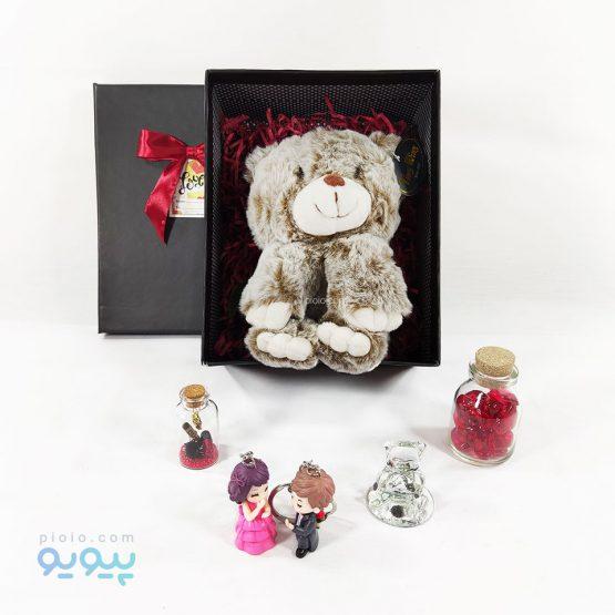 هدیه تولد با عروسک خرس پنبه ای