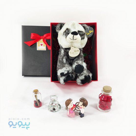 باکس هدیه با عروسک پاندا