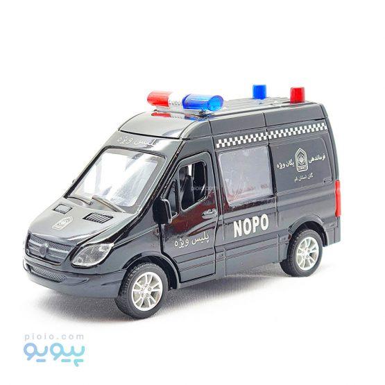 ماکت ماشین فلزی پلیس ویژه NOPO
