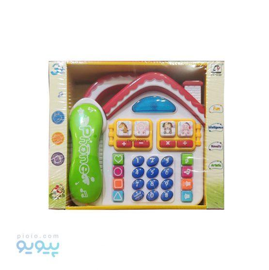 تلفن اسباب بازی طرح خانه