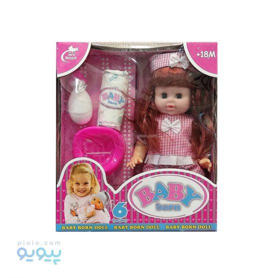 عروسک دختر Baby born کد 582