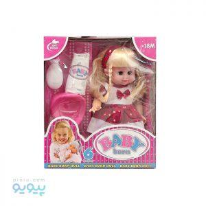 عروسک دختر Baby Born کد 586