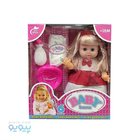عروسک دختر Baby Born کد 587