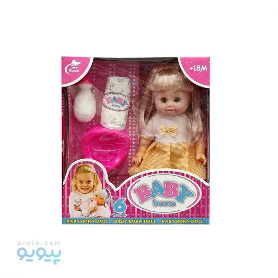عروسک دختر Baby Born کد 588