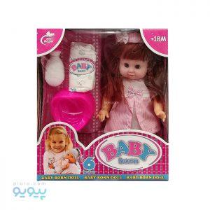 عروسک دختر Baby Born کد 580
