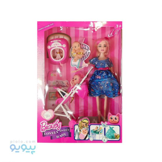 عروسک باربی مدل Lovely Sweet