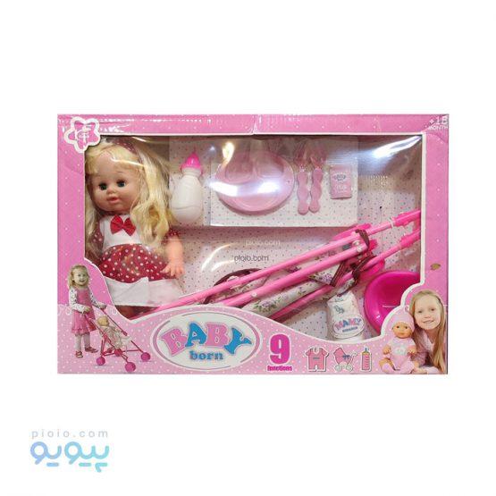 عروسک Baby Born مدل دختر شیرخوار