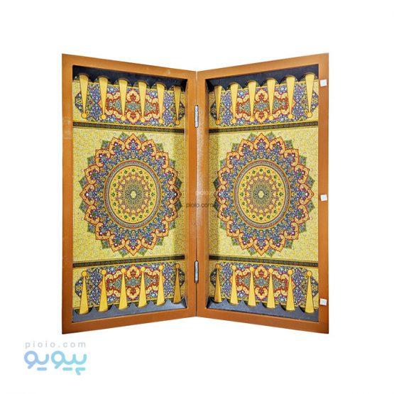 تخته نرد و شطرنج چوبی طرح سنتی