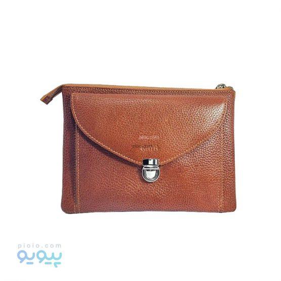 کیف چرم طبیعی پاسپورتی کد 541