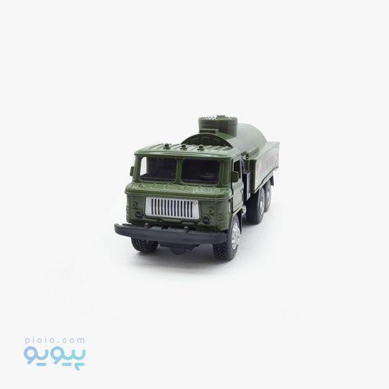 ماکت فلزی کامیون حمل روغن