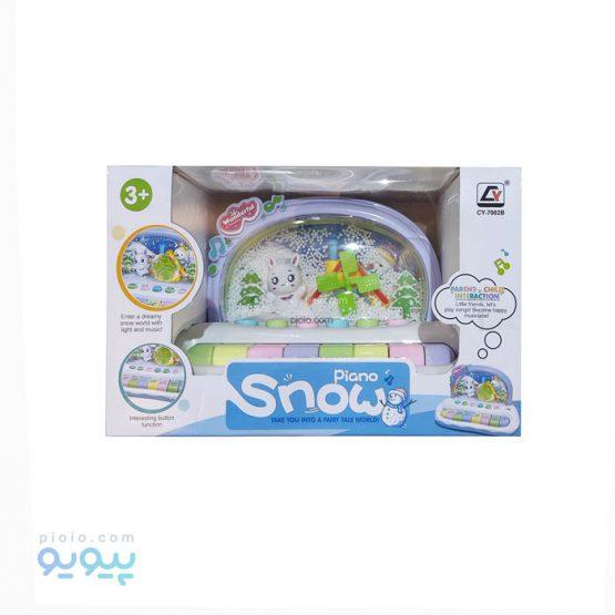 پیانو اسباب بازی مدل Snow