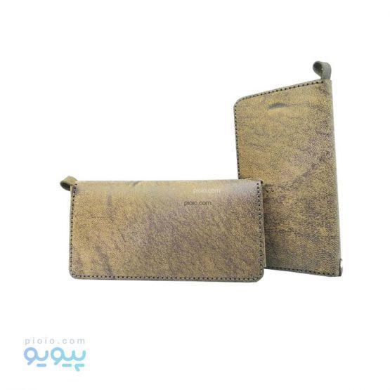 کیف پول چرم شتری کد 530
