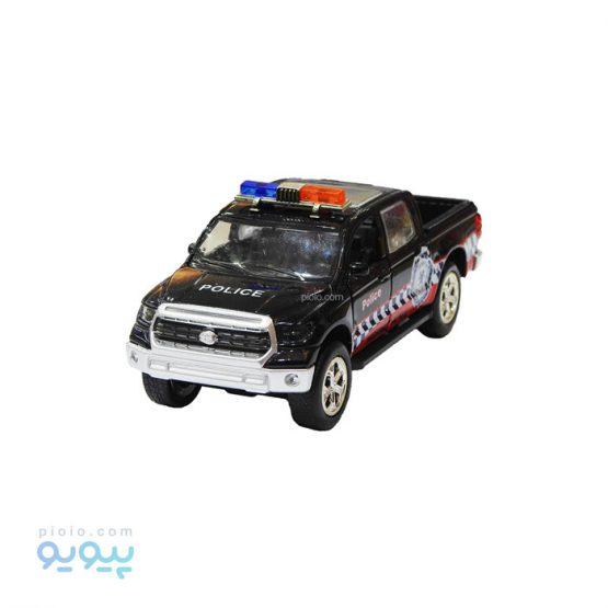 اسباب بازی ماشین پلیس فلزی تویوتا هایلوکس