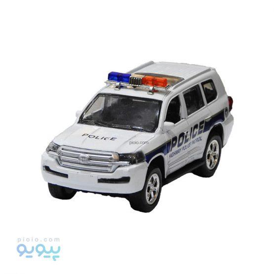 اسباب بازی ماشین فلزی پلیس لندکروز