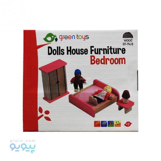 اسباب بازی چوبی اتاق خواب