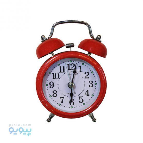 ساعت رومیزی فانتزی قرمز