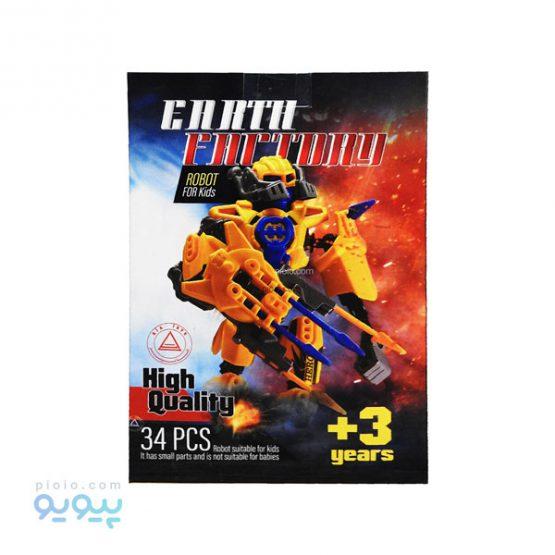 ساختنی ربات earth factory