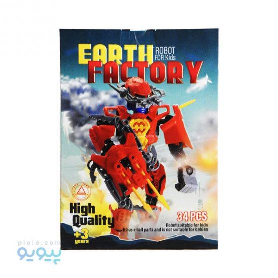 ساختنی ربات مدل earth factory