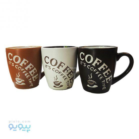 ماگ سرامیکی It's coffee time
