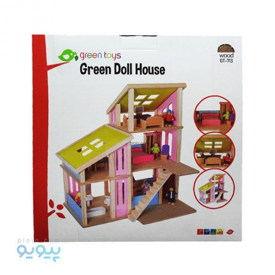 خانه عروسکی چوبی مدل GT-713