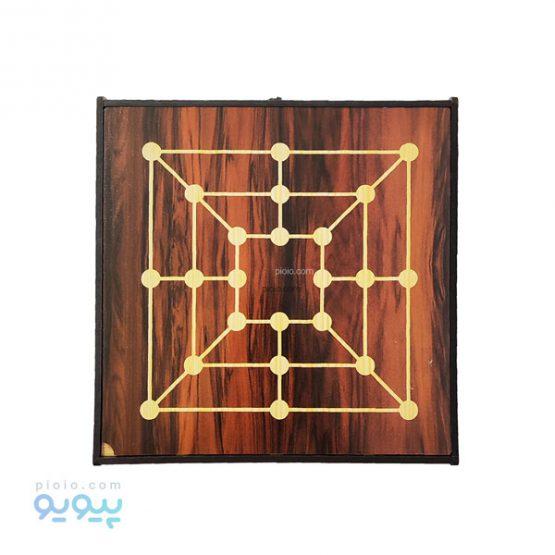 شش بازی در یک جعبه چوبی