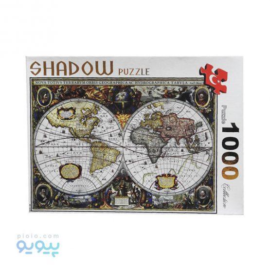 پازل 1000 تکه طرح نقشه باستانی