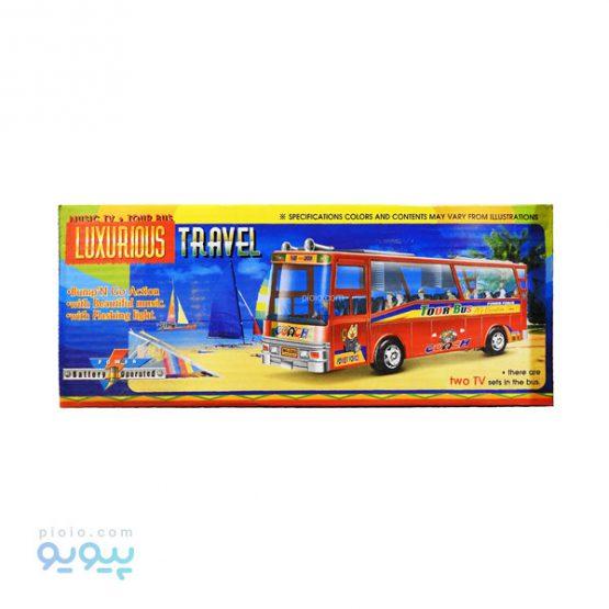 اسباب بازی اتوبوس مدل luxury bus