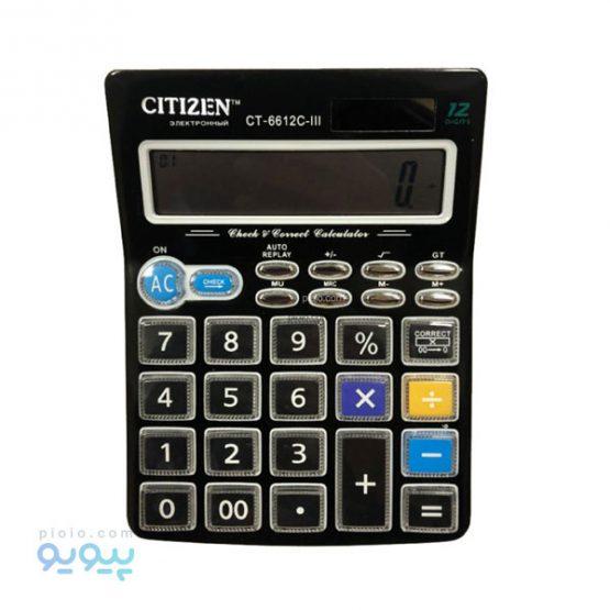 ماشین حساب CITIZEN CT-6612C