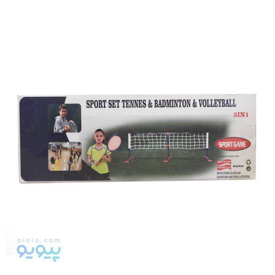 ست ورزشی تنیس ، والیبال و بدمینتون
