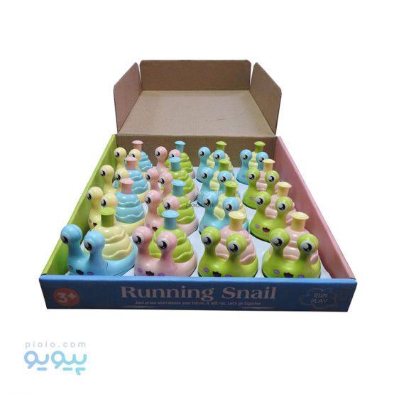 اسباب بازی رنگی مدل حلزون