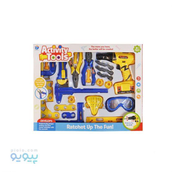 ابزار مکانیکی اسباب بازی کودک