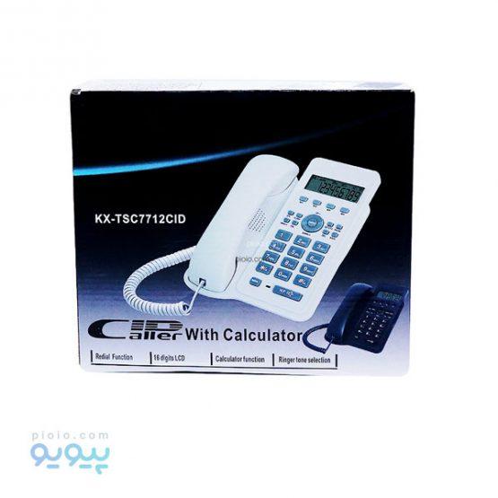 تلفن ثابت پاناسونیک مدل KX-TSC7712CID
