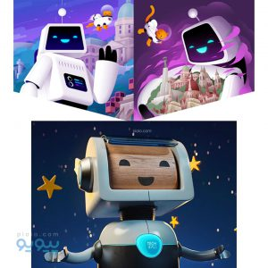 ربات اسباب بازی
