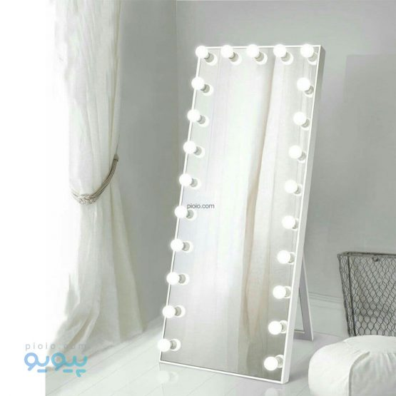 آینه لامپی قدی