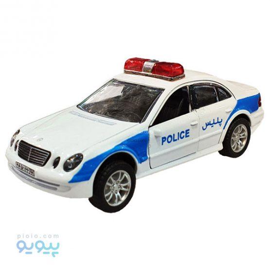 ماکت فلزی ماشین پلیس مدل مرسدس بنز