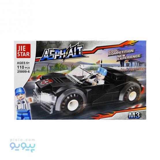 لگو ساختنی مدل ماشین کد 25009-6