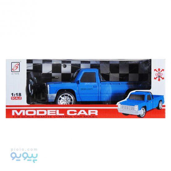 ماشین بازی کنترلی طرح نیسان آبی مدل Model Car
